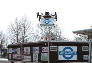 Skyports and Partners to Complete First Urban e-Commerce Deliveries by Drone in Helsinki