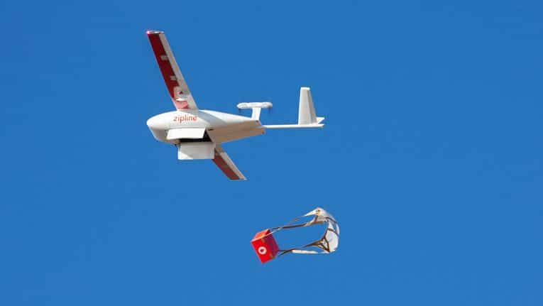 On Friday, Zipline, the world's first national-scale drone delivery service, announced that in March it is beginning the initial testing and diagnostic flights from its first distribution center in Omenako.