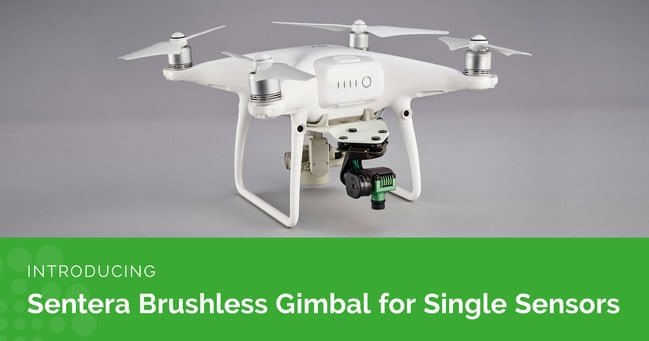 Sentera brushless gimbal for single sensors