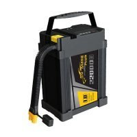 Tattu Plus 1.0 22000mAh 44.4V 25C 12S1P Lipo Smart Battery Pack with AS150U Plug